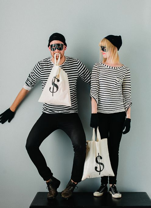 halloween costume burglars