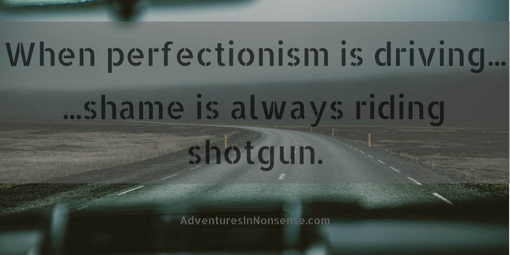 perfectionism and shame