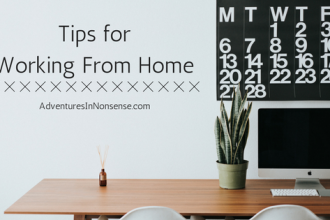 tips working home
