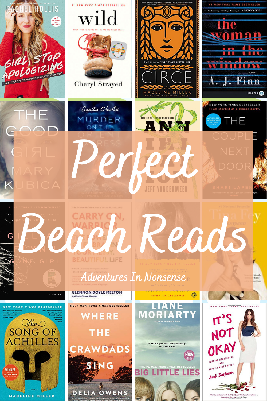 beach reads vacation summer books