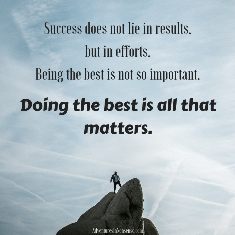 success is the best