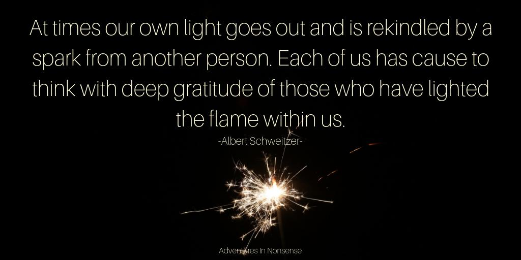 gratitude spark