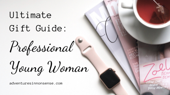 gift guide professional young woman