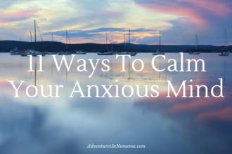 anxious mind calm