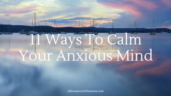 anxious mind calm