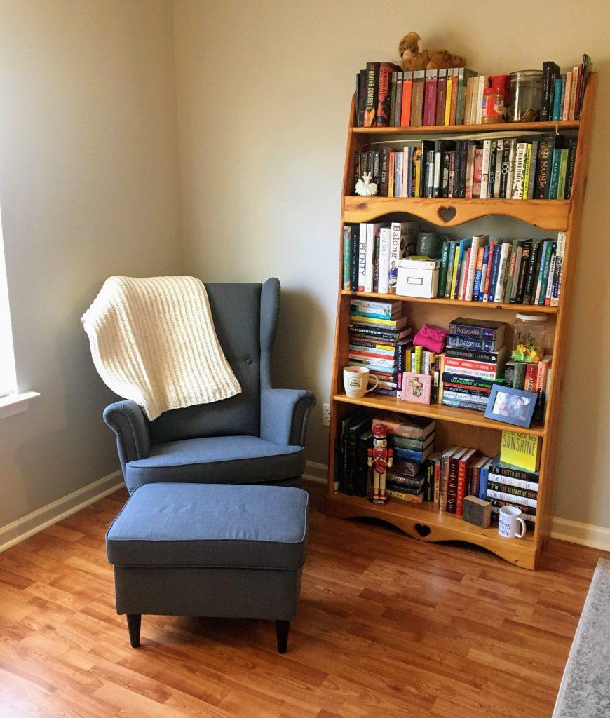 book nook reading corner