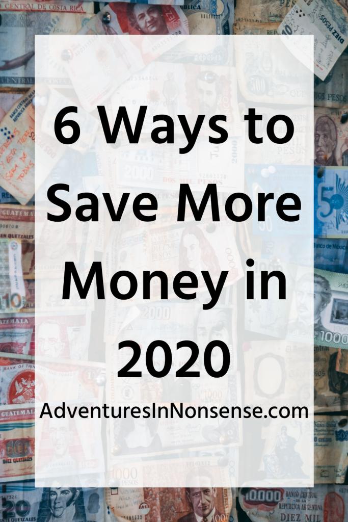 save more money 2020