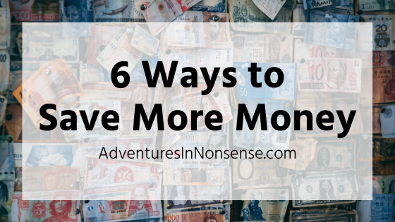 save more money tips